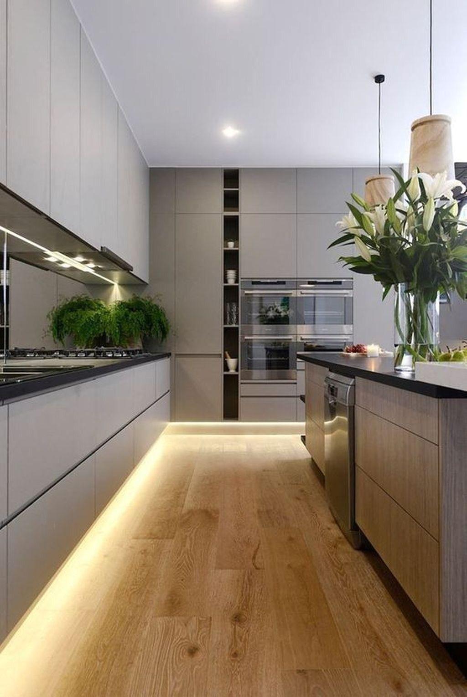 38 Elegant Kitchen Design Ideas Kitchenideas Contemporary Kitchen Design Modern Farmhouse Kitchens Modern Kitchen Design