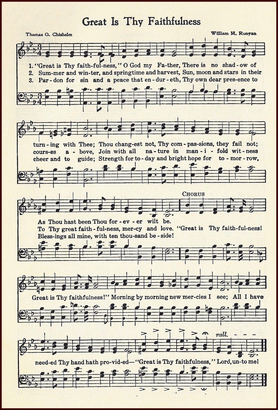 Great Is Thy Faithfulness: Inspiration from the Beloved Hymn
