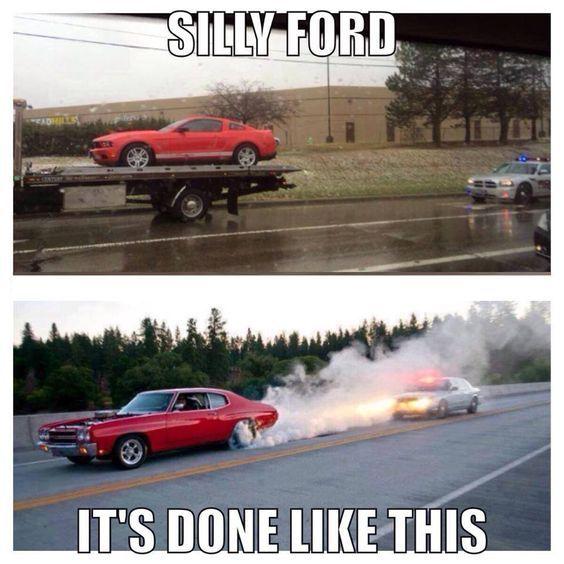 Muscle Car Memes Silly Ford Https Www Musclecarfan Com
