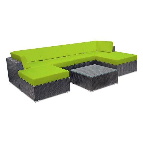 Outdoor Modular Sofa Set 7pc Perfect for Outdooor Entertainment ...