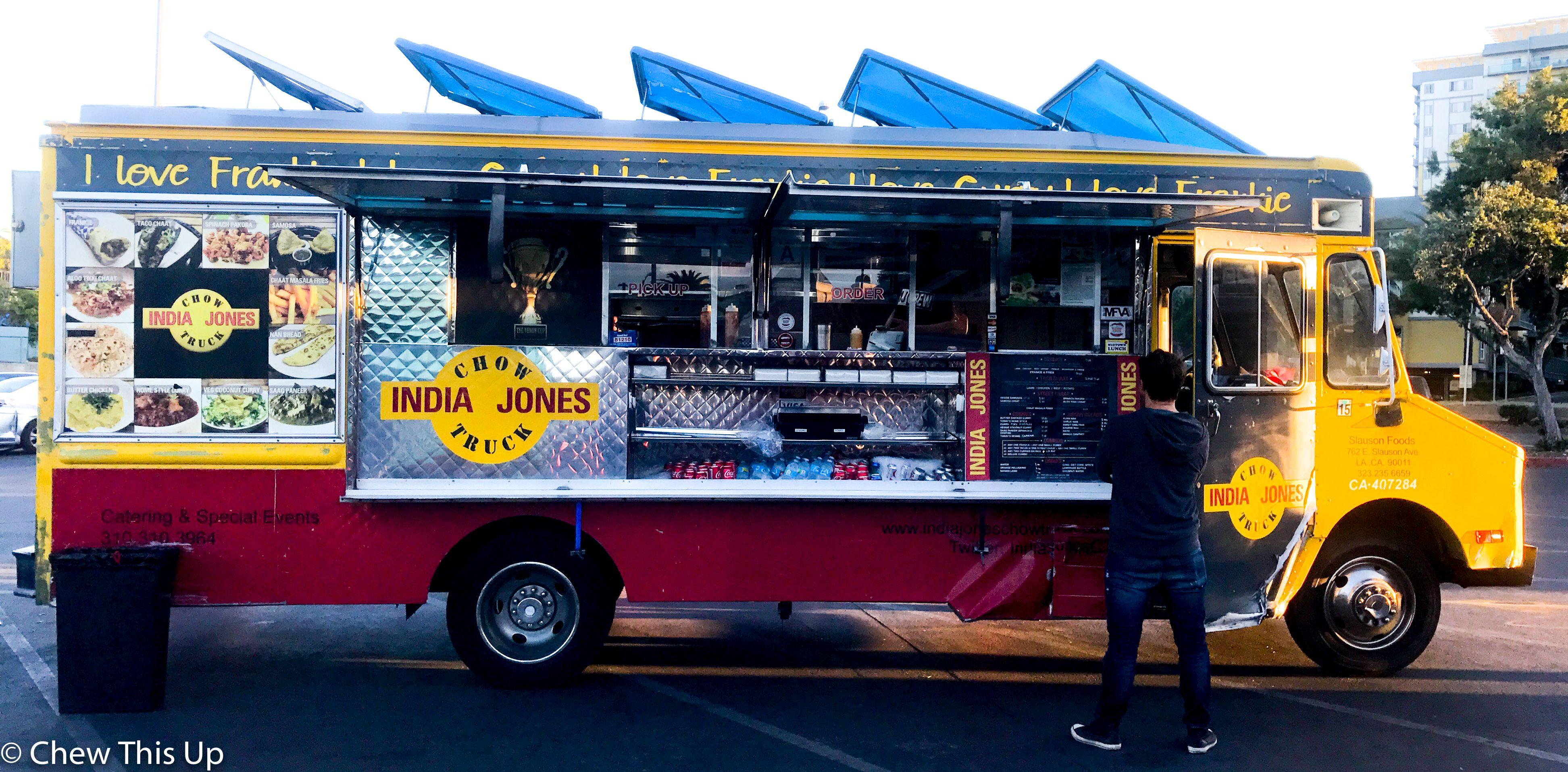 Gluten Free Indian Food On Wheels In La India Jones Chow Truck