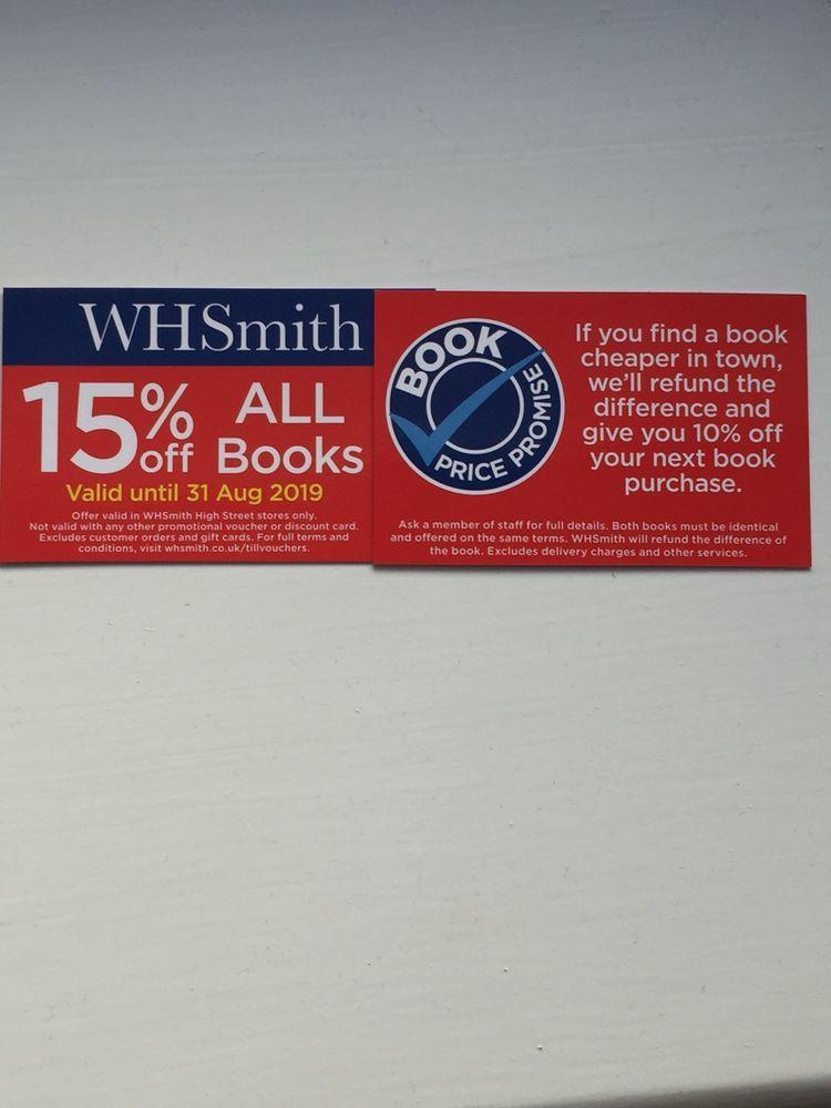 Event Tickets Uk Whsmith 15 Off Books Re Usable Voucher Https Ift Tt 2qw6xfu Find A Book Voucher Event Ticket
