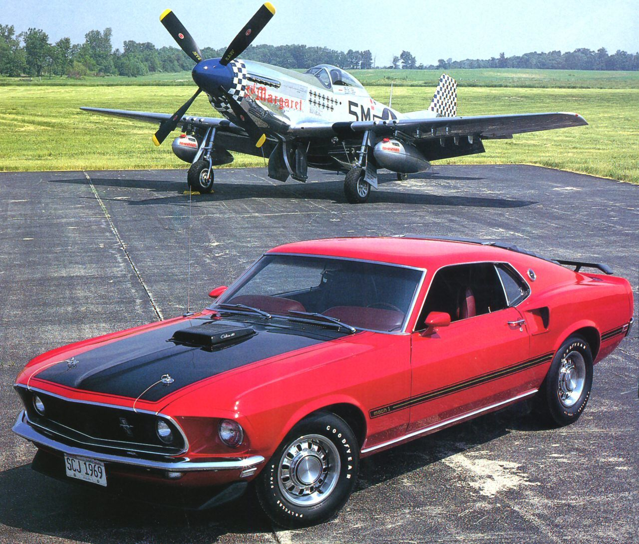 P51 mustang where the inspiration came from for the ford mustang two iconic pieces of american history