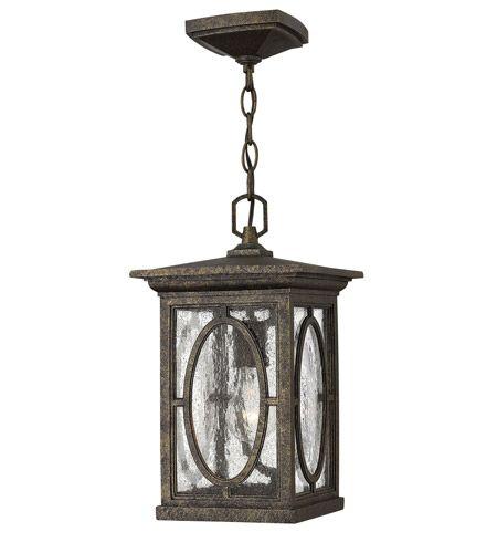Hinkley Lighting Randolph 1 Light GU24 CFL Outdoor Hanging in Autumn 1492AM-GU24 #lightingnewyork #lny #lighting