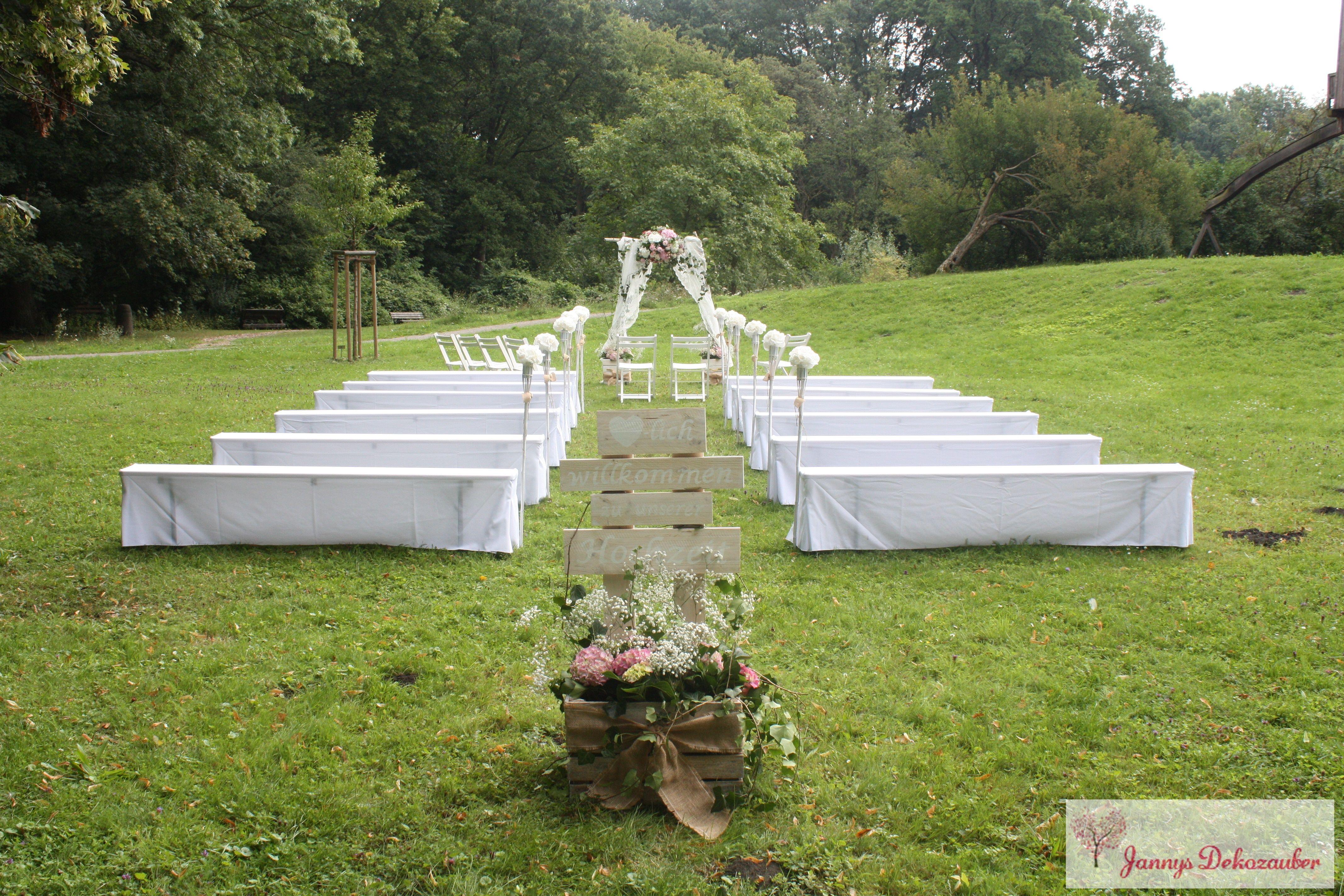 freie trauung wiese gr252nen hochzeit vintage wedding hussen
