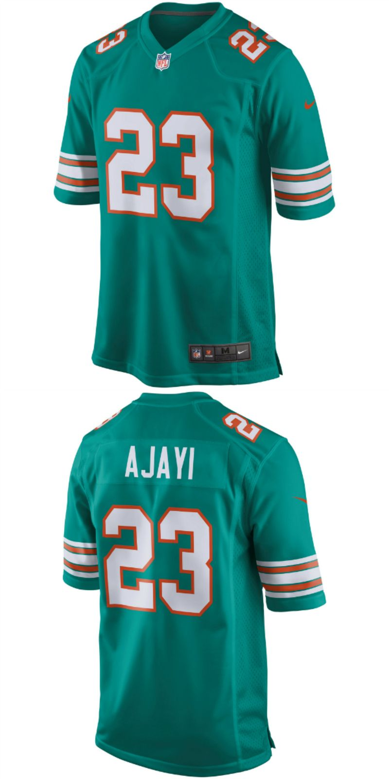 486fccaa UP TO 70% OFF. Jay Ajayi Miami Dolphins Nike Throwback Game Jersey ...