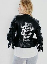 Gotta have it! Current obsession. $498.00 <3 #obsessed #fringe #leather #Victoriasecretfashionshow