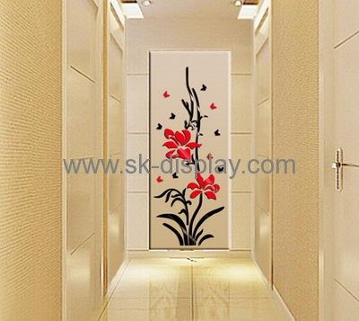 Wholesale acrylic wall sticker ikea mirror sticker mirror MA-070 ...