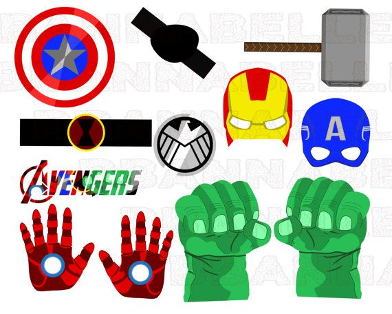 Hey, I found this really awesome Etsy listing at https://www.etsy.com/listing/268538163/avengers-printable-party-props-digital