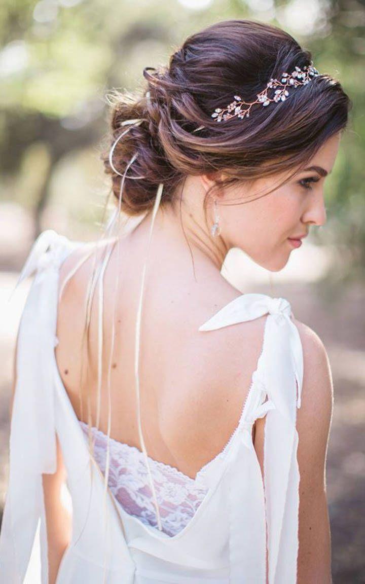 modern wedding hairstyle 10 pinterest brautfrisur hochzeitsfrisuren und frisur. Black Bedroom Furniture Sets. Home Design Ideas