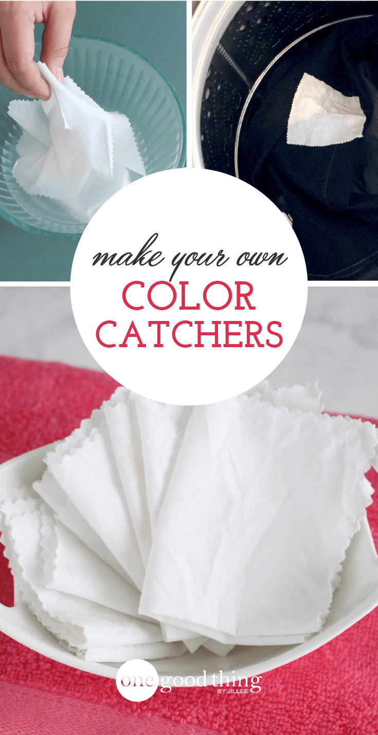 How To Make Your Own Laundry Color Catchers | Catcher, Laundry and ...