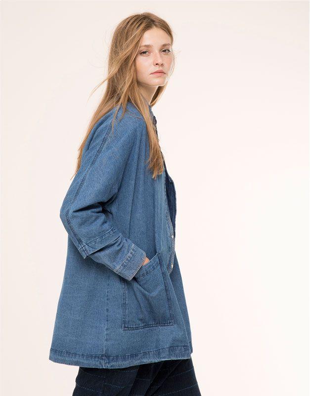 Robe pull et veste en jean
