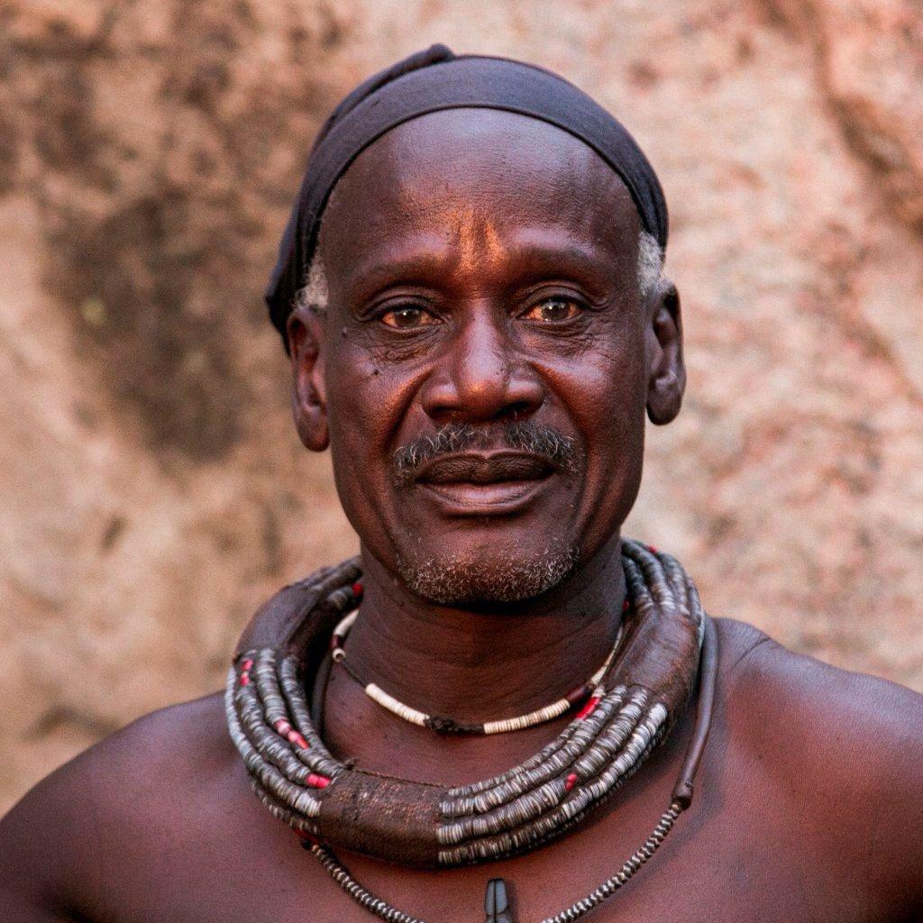 Piet a proud regal Himba man