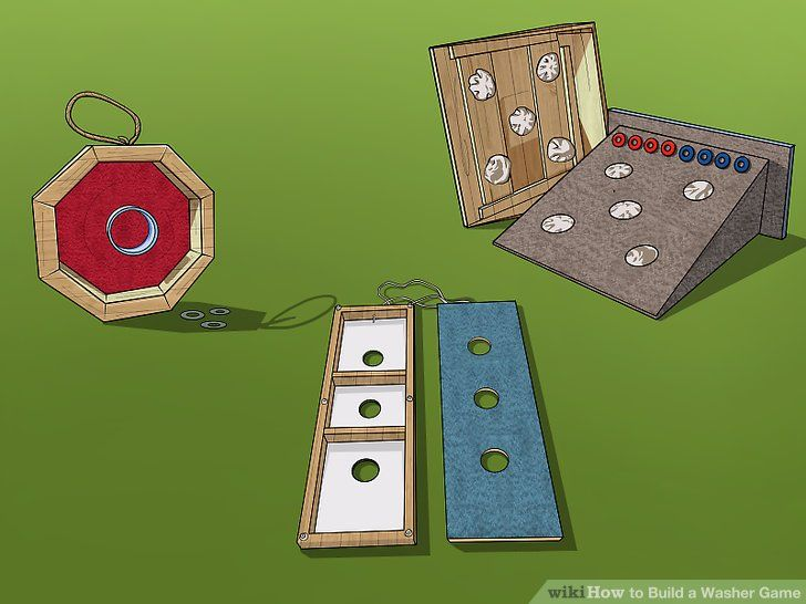 How to Build a Washer Game (with Pictures) wikiHow