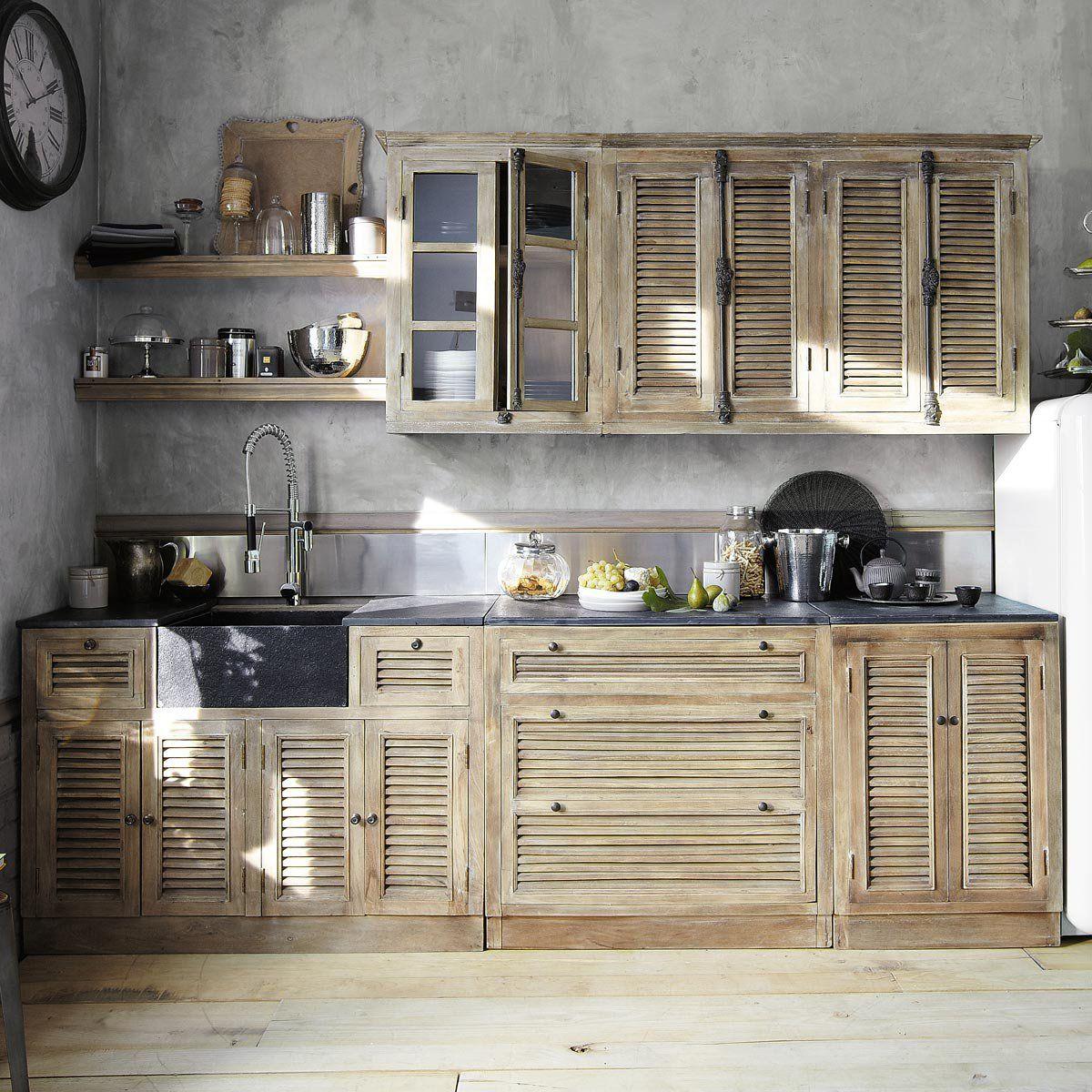 new kitchen designs from maisons du monde kitchens kitchen design and loft kitchen. Black Bedroom Furniture Sets. Home Design Ideas