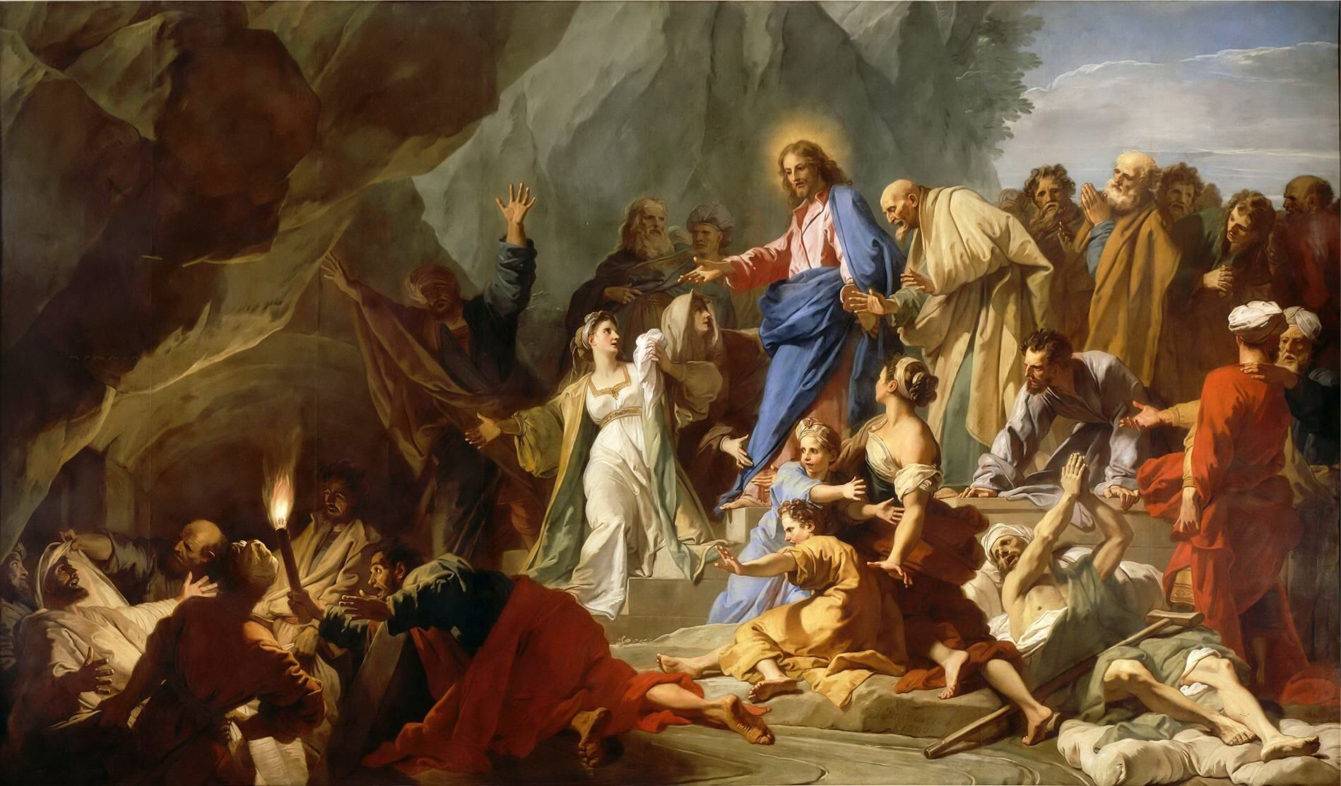 Jean-baptiste Jouvenet - Resurrection of Lazarus