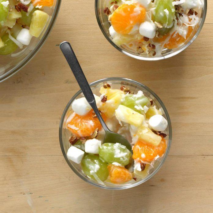 Vanilla Yogurt Ambrosia #vanillayogurt