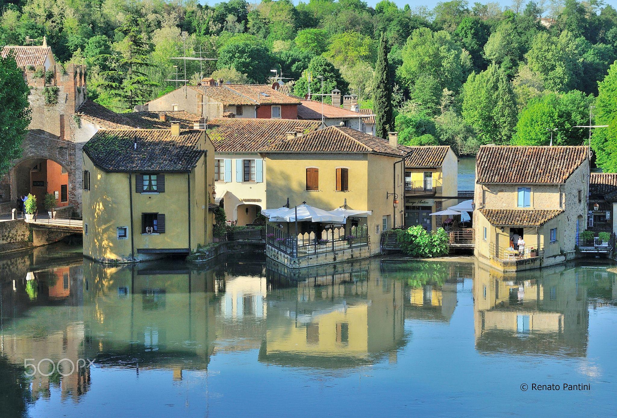 Borghetto sul Mincio... - Taken in Borghetto, (Valeggio sul Mincio, Veneto, Italy)