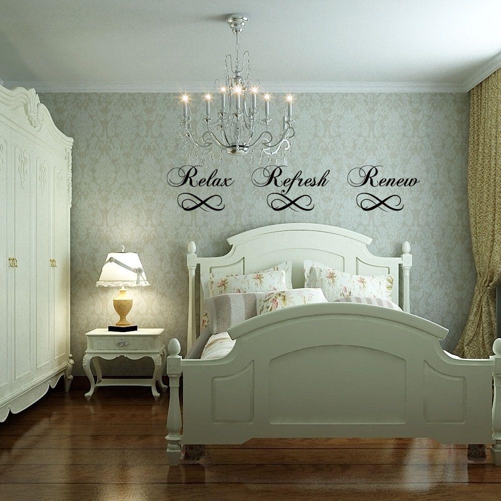 Diy bathroom wall decor ideas bathroom wall sticker relax refresh renew washroom quote family