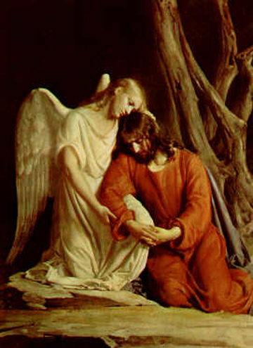Agony in the Garden, Carl Heinrich Bloch, 1865