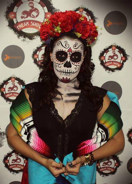 Sugar Skull for hallowen!!! #sugarskull #halloween #dayofthedeath #catrina #mexico #halloweentime