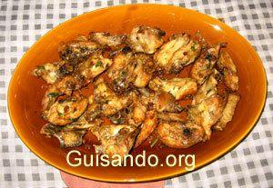 """Aprenda a cocinar bien, inutil : El magnífico """"Pollo al Ajillo"""""""