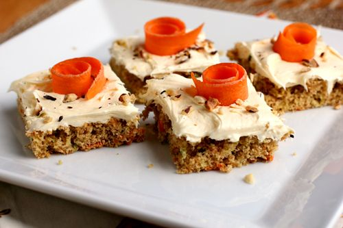 Carrot and zucchini cake easy recipes