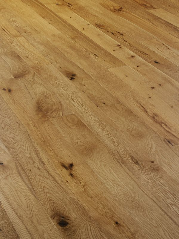 Mwf 606 Rustic Oak Engineered Wood Flooring With Brushed Uv Oil
