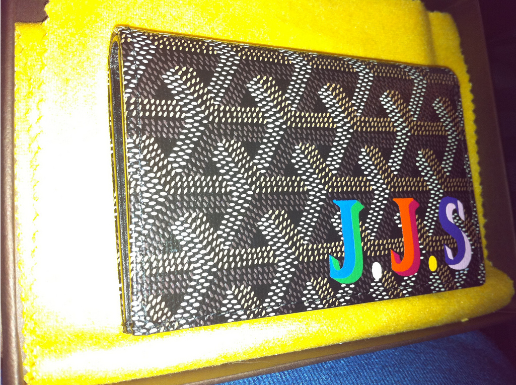 Goyard multicolor monogram. I think this might be an xmas present from me to me.
