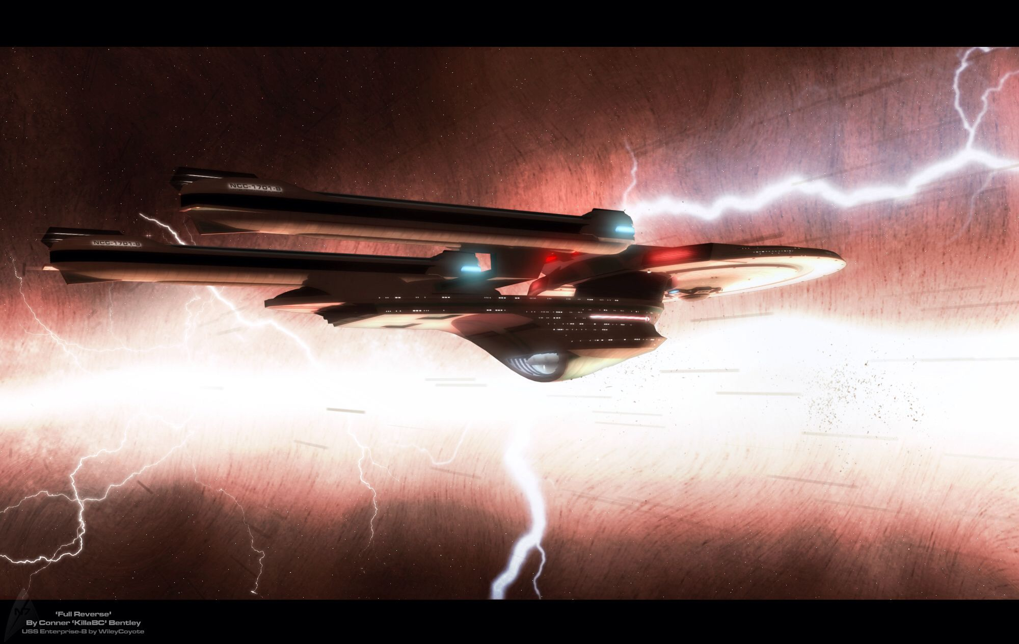 Uss enterprise ncc 1701 d galaxy class saucer separation r flickr - Uss Enterprise Ncc 1701 B