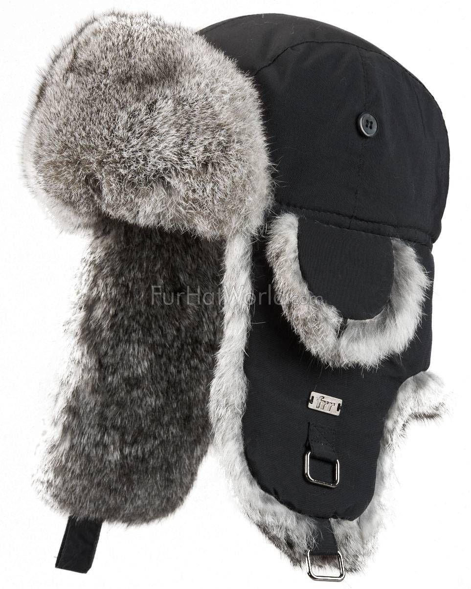 Camo Fur Trapper RUSSIAN Hat Great Quality 58cm M New
