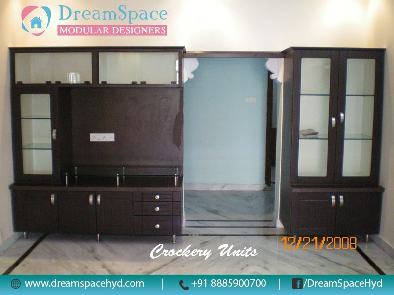Modern Kitchen Modular dream space is modular kitchen store offering crockery units