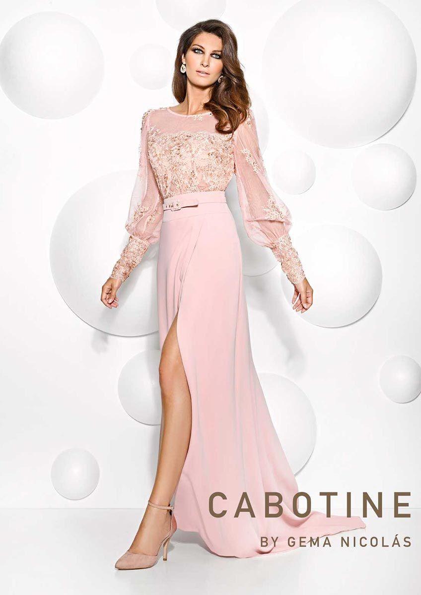 Colección vestidos de Cabotine 2015 – Vestidos de  fiesta  bodas  ceremonias  en entrenovias. Más información en www.entrenovias.es 4191ac8c95a3