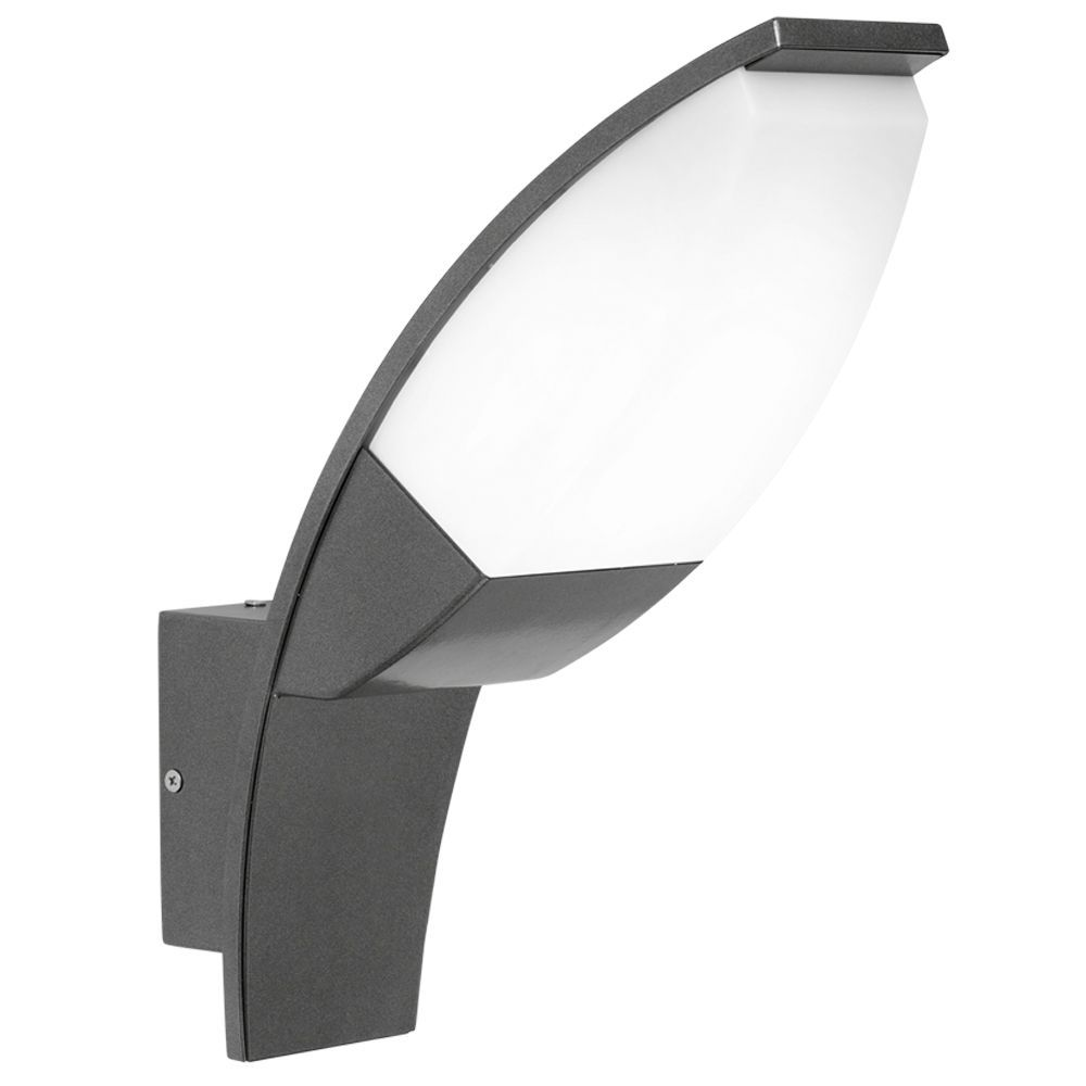 Eglo Panama LED Black Exterior Wall Light in Anthracite   Exterior ...
