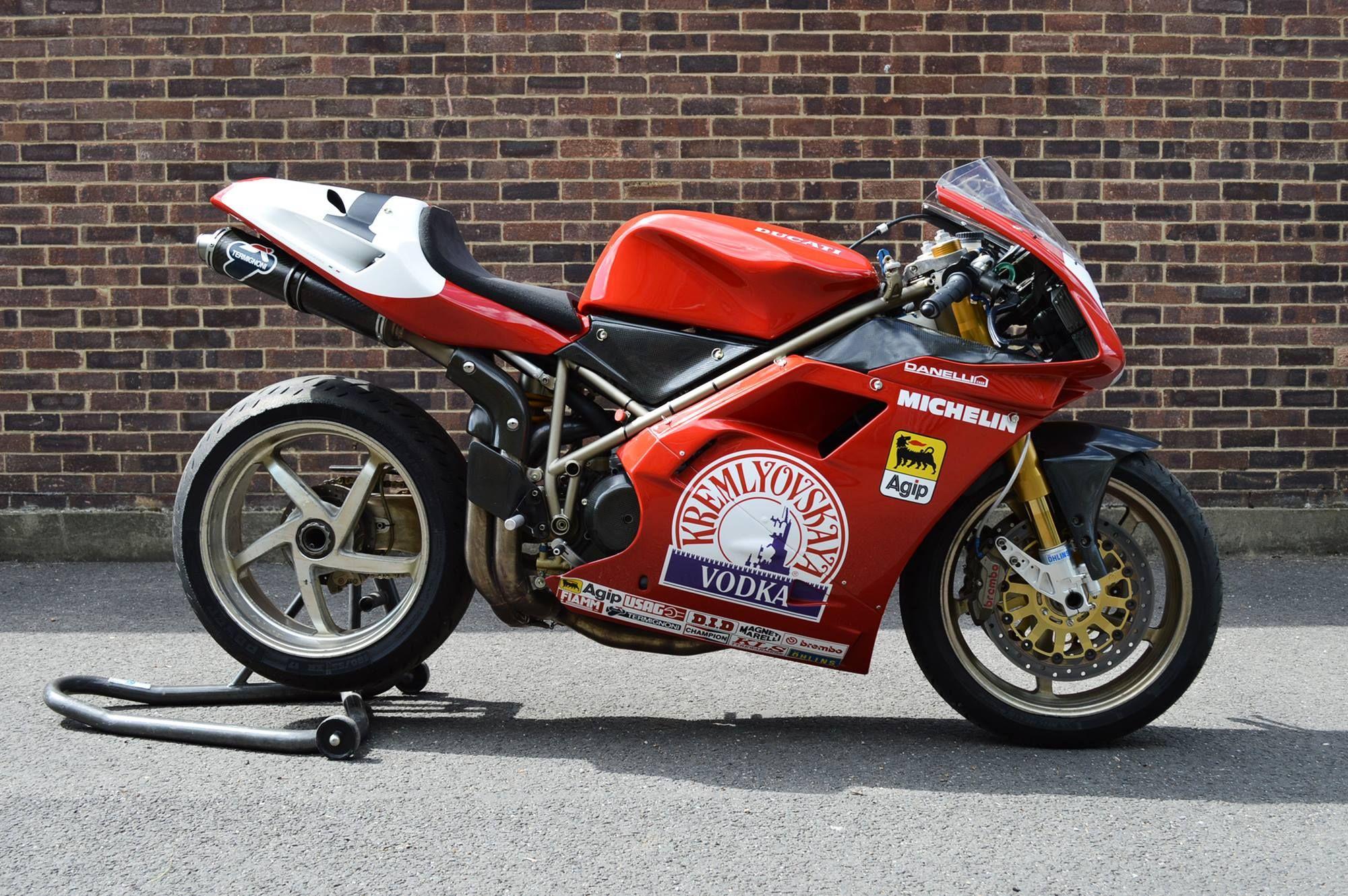 Imagine Ducati being sponsored by Vodka.