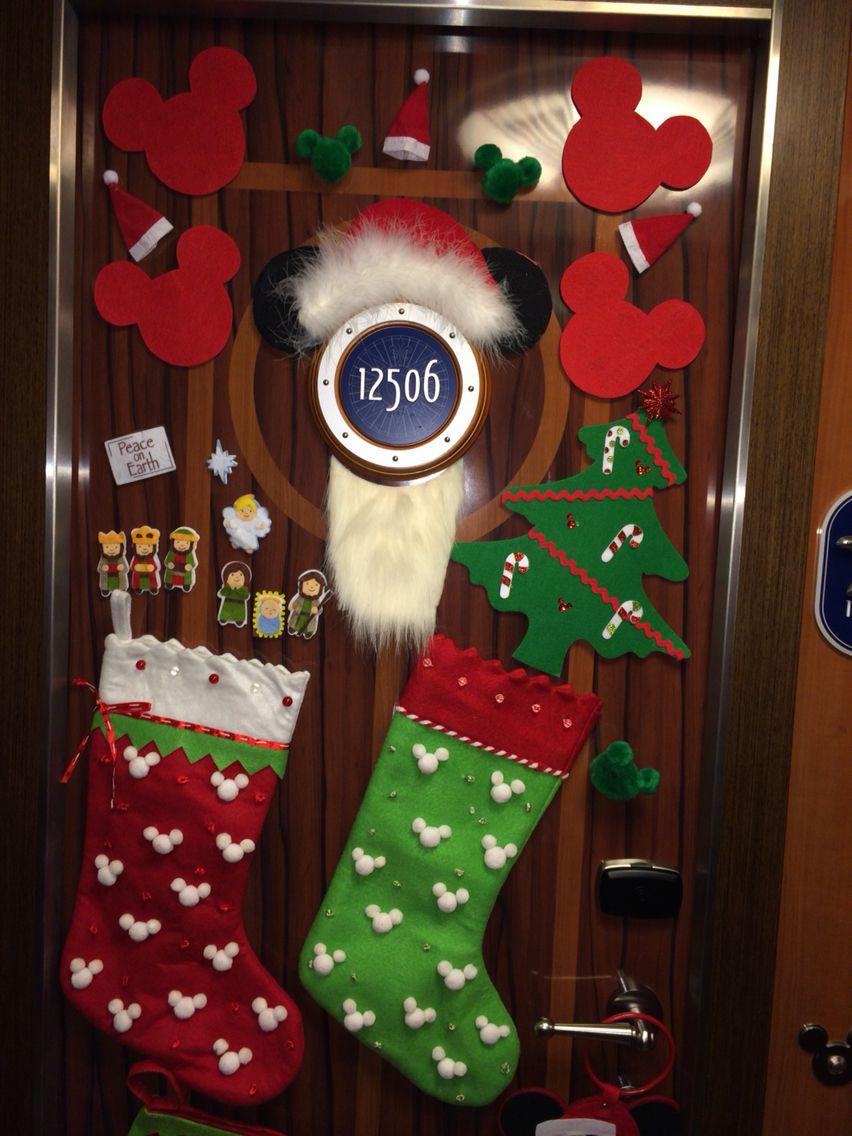 Disney Cruise Christmas Door Decorations My Disney Cruise Door