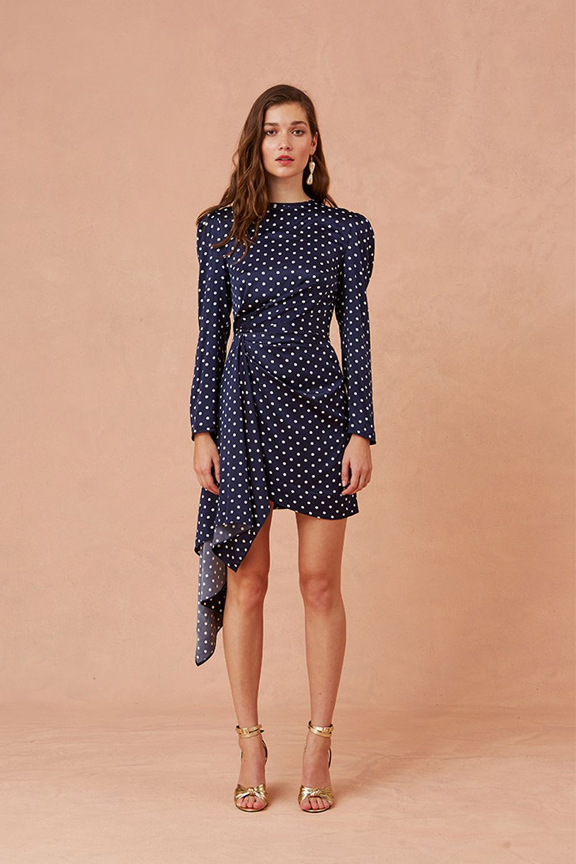 Keepsake Foolish Polka Dot Long Sleeve Ruffle Detail Mini Dress Long Sleeve Mini Dress Mini Dress Polka Dot Mini Dresses [ 1500 x 1000 Pixel ]
