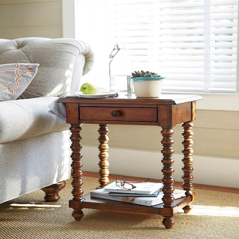 Paula Deen Dogwood Brown Side Table 596827 Bellacor