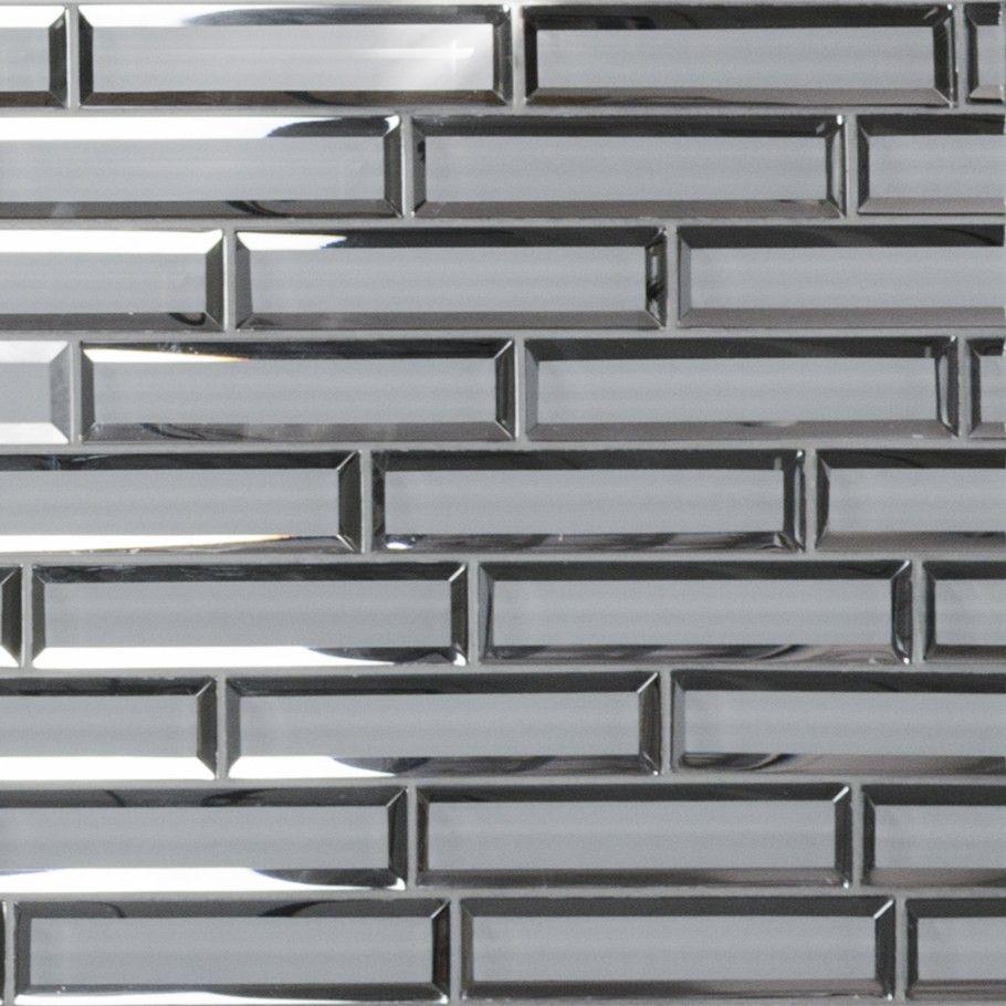 felicity polished inverted beveled mirror glass tile tilebar com