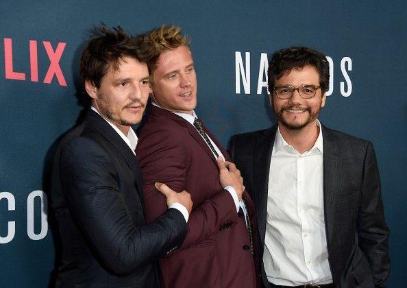 narcos season 2 premiere - Pedro Pascal, Boyd Holbrook
