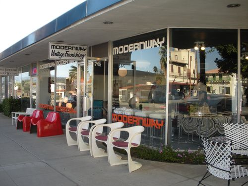 Modern way mid century modern vintage furniture store for Palm springs modern furniture