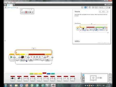 Lego Mindstorms EV3 Tutorial- Measuring and Displaying Distance ...