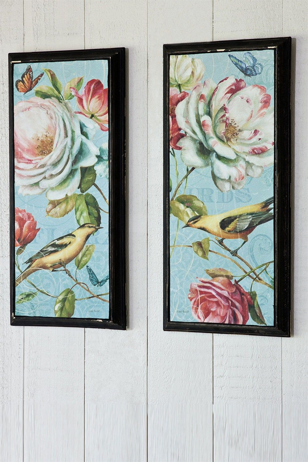 Picture frames and wall art flower and bird wall art ezibuy