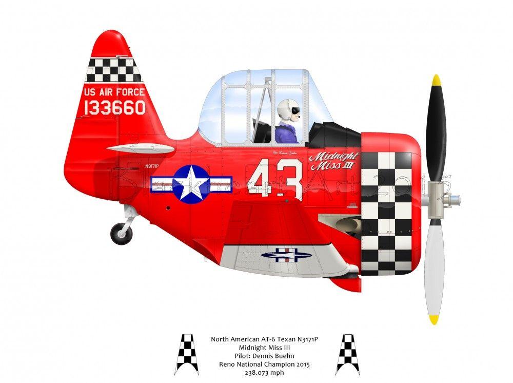 Air Racers | Pat Cherry's Blackheart Art
