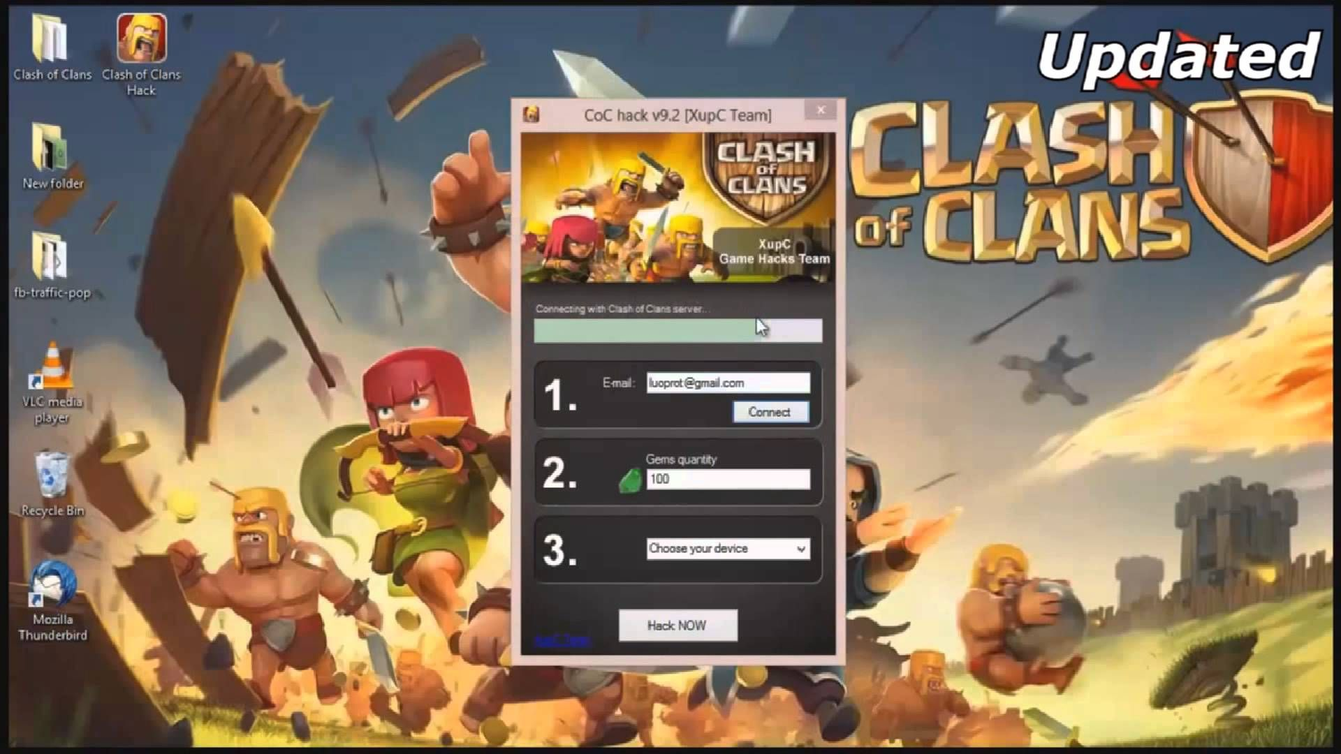 Clash Of Clans new unlimited Gems Hack!