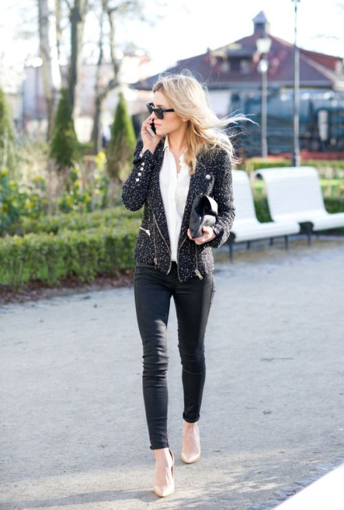 Bows And Boston Street Style Chic Outfits Style