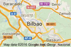 Mapa De Bilbao España.Mapa De Bilbao Espana Bilbao Municipio En Espana Bilbao Es