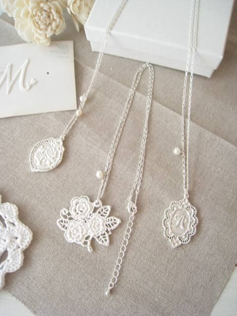 Lovely lace pendant