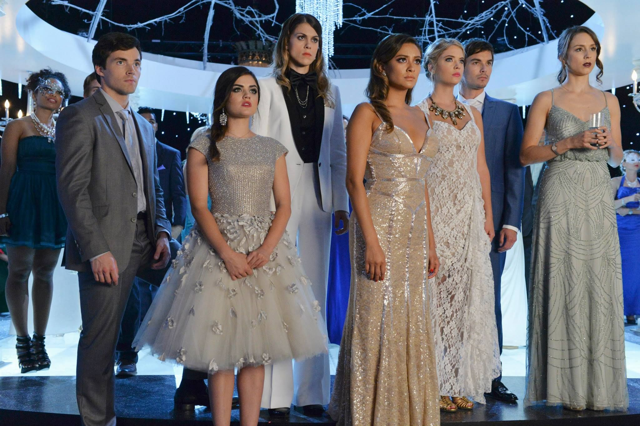 Don\'t miss the #PLLChristmAs Special Tuesday, December 9 at 8pm/7c ...