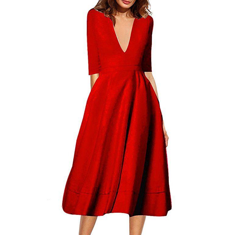 Belle Style Rückenfrei Kleid Damen IHRKleid® Elegant ...